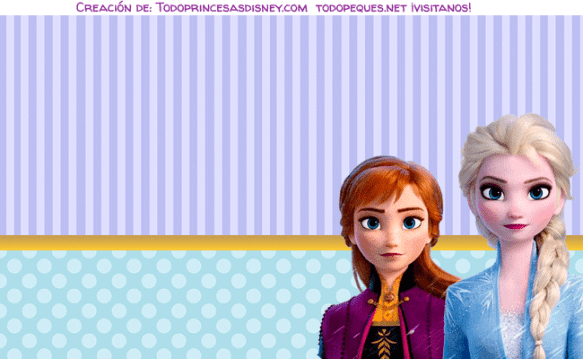 Kits Imprimibles Frozen 2 descarga gratis
