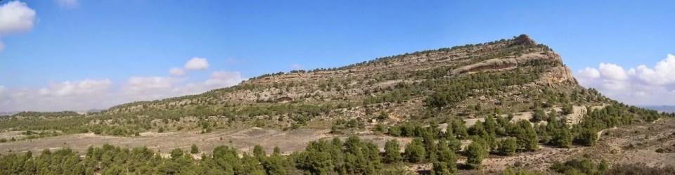 Monte Arabí situado en el Yecla en la Región de Murcia.