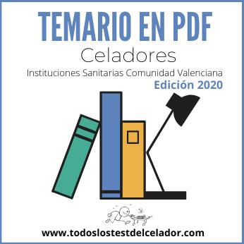 TEMARIO CV 2020