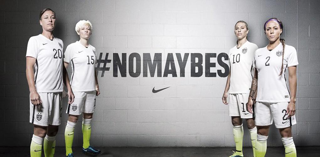 Resultado de imagen de seleccion norteamericana de futbol femenino nike