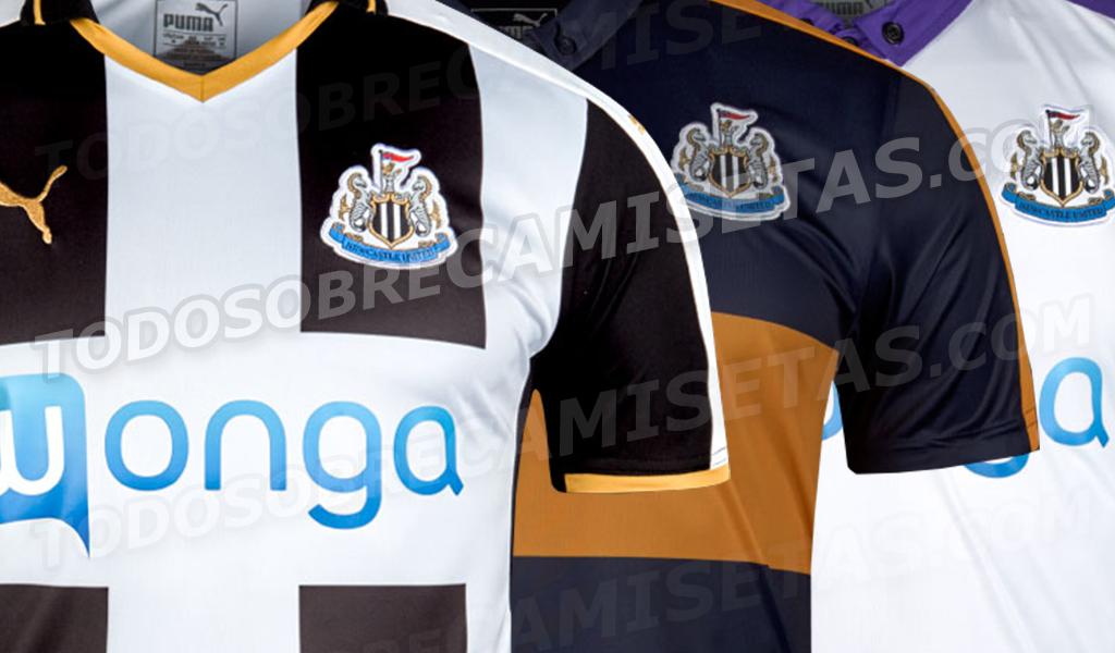 Newcastle 2016 17 Puma Kits LEAKED Todo Sobre Camisetas