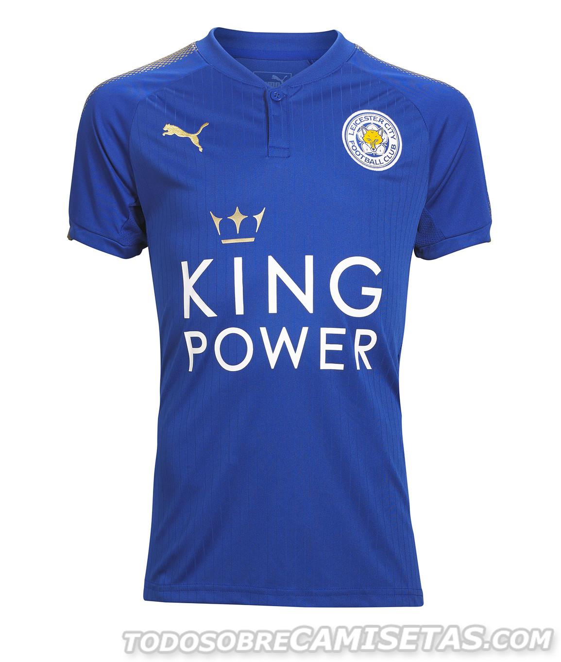 Leicester City FC Puma 2017 18 Home Kit Todo Sobre Camisetas