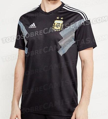 Mondiale, seconda maglia dell'Argentina | numerosette.eu
