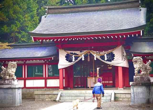 Santuario Fuji Omuro Sengen: 2ª Estación de la Ruta Yoshida