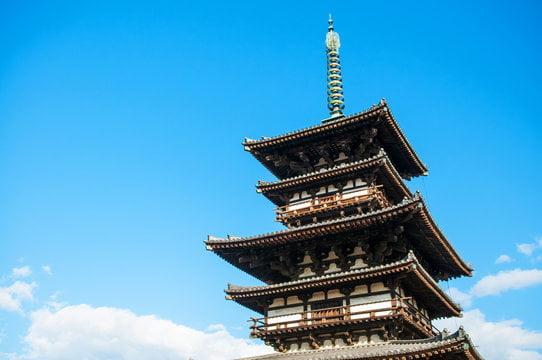 La pagoda Yakushiji en Japón abre después de la primera renovación en más de 100 años