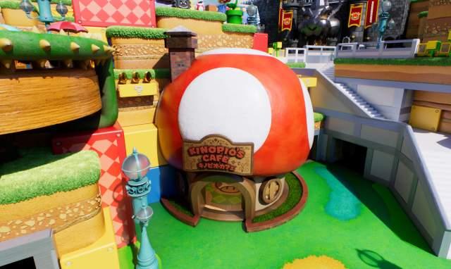 Kinipios's Cafe en Super Nintendo World