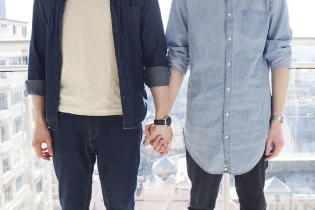 pareja homosexual gay lgtb
