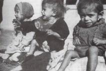 Niños griegos desnutridos