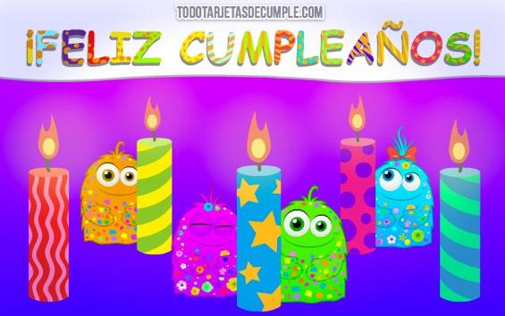 tarjetas de cumpleaños divertidas