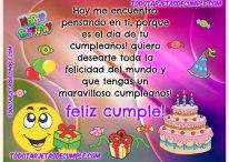 Que tengas un maravilloso cumpleaños