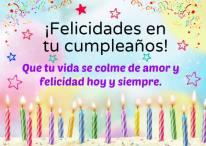 ¡Felicidades en tu cumpleaños!