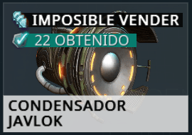 Condensador Javlok