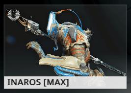 Warframe Inaros ES