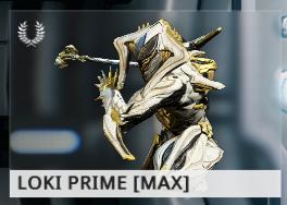Warframe Loki Prime EN