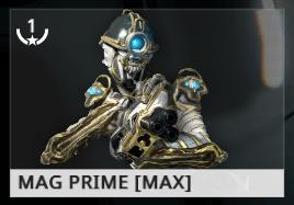 Warframe Mag Prime ES