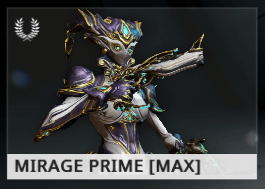 Warframe Mirage Prime EN