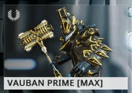Warframe Vauban Prime EN
