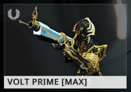 Warframe Volt Prime EN