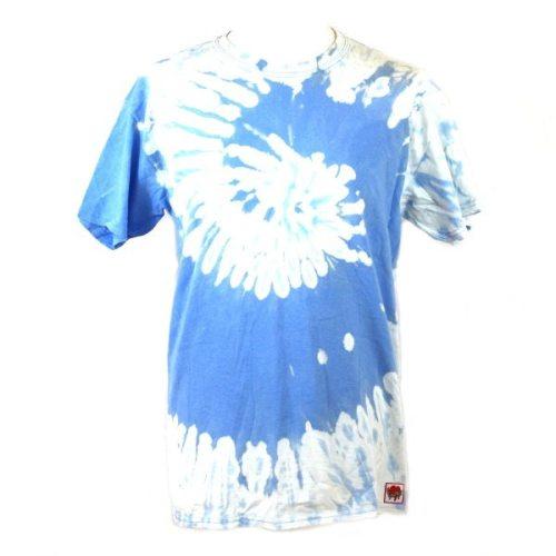 Blue Reverse Dye Swirl