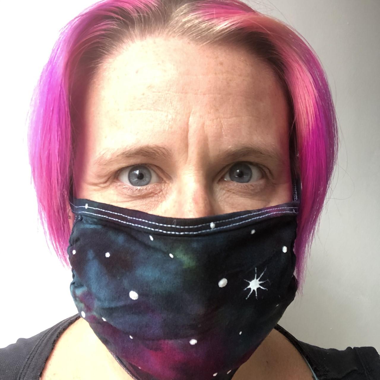 face mask - nebula