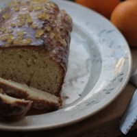 Orange and ginger yoghurt pot cake