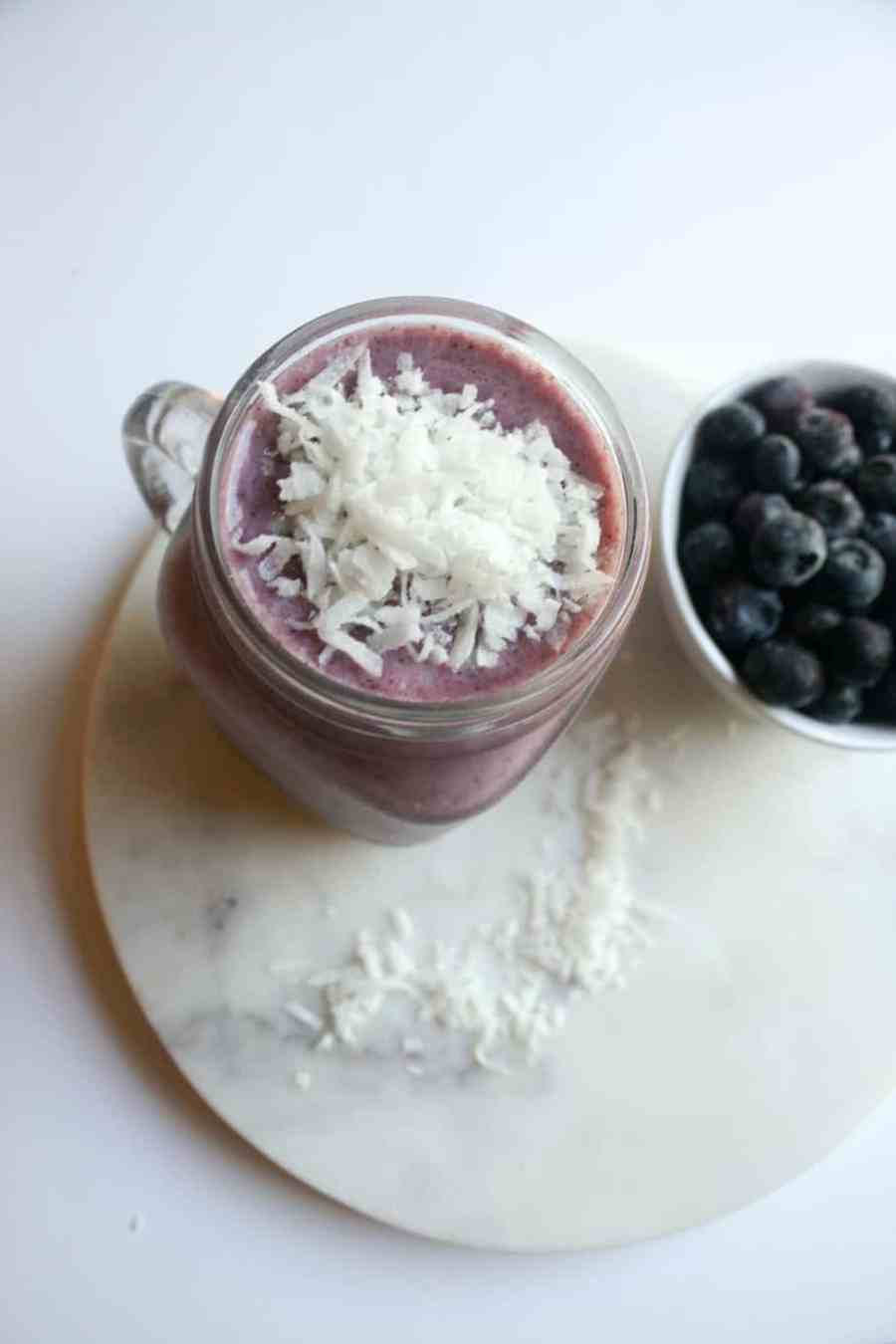 Triple Berry Coconut Smoothies are the perfect start to any day. Full of energizing fruit, this is the perfect breakfast, lunch or dinner!