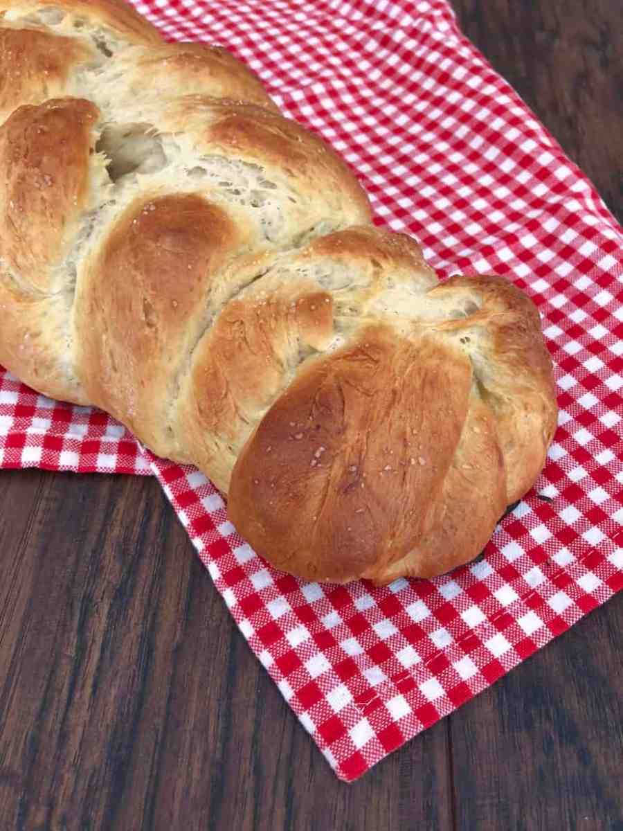 Easy, 5 step Challah Bread. The Jewish bread that is perfect for french toast!