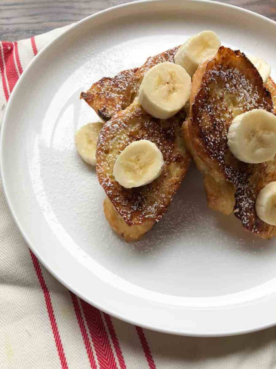 Challah French Toast made with homemade Challah Bread (recipe included!)