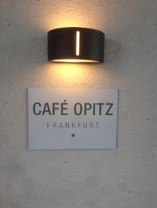 フランクフルトのお薦めカフェCafe Opitz