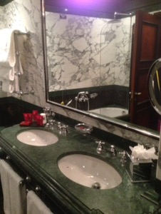 ホテルダニエリベネチア滞在記バスルーム