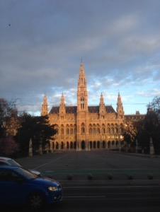 ウィーン早朝ラン市庁舎