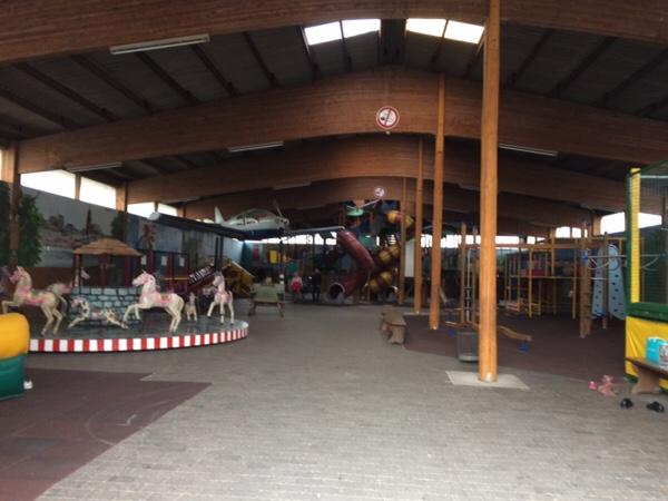 Freizeitpark Lochmühleの室内遊び場