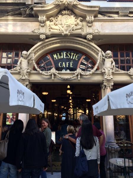 マジェスティックカフェ(Majestic Cafe)ポルト