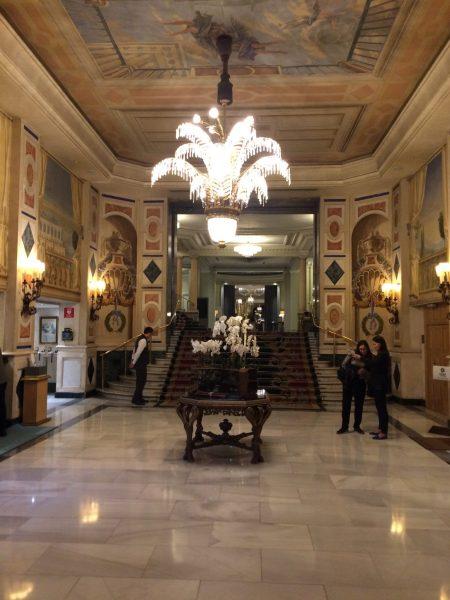 Westin Palace Madrid豪華なロビーホール