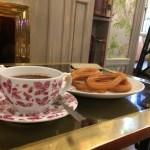 マドリッド王宮前のオシャレなカフェCafé de Oriente マドリッドでチュロス食べ比べ3件目