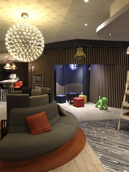 Hotel Novotel Paris Centre Bercyプレイエリア