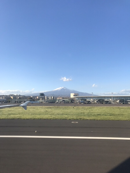 Mt. Etona Catanaia airport