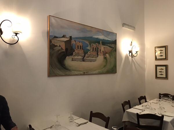 ristorante malvasia taormina店内