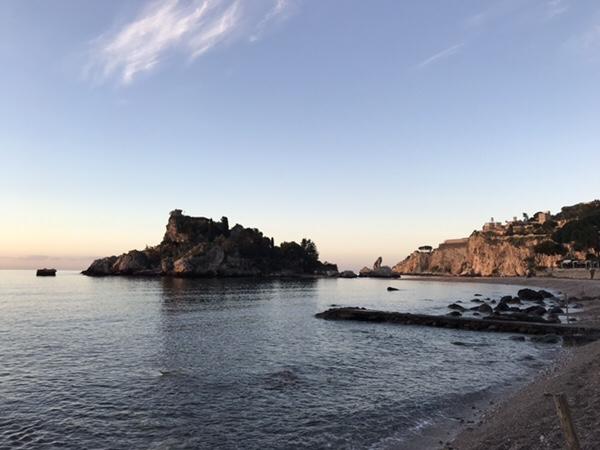 taormina-morning-run Isola bella