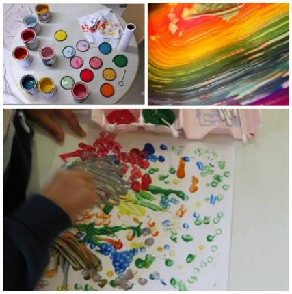 Μαθήματα ζωγραφικής για παιδιά.