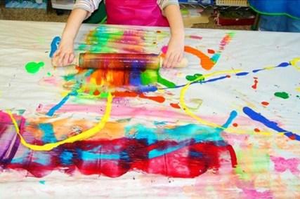κίνηση και ζωγραφική για παιδιά