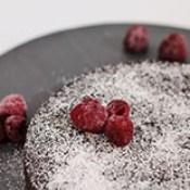 Kladdkaka - Schwedischer Matschkuchen