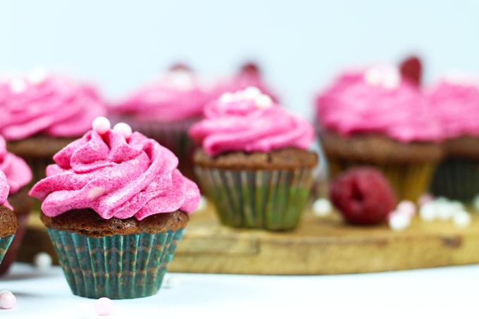 Mini Coffee Cupcakes