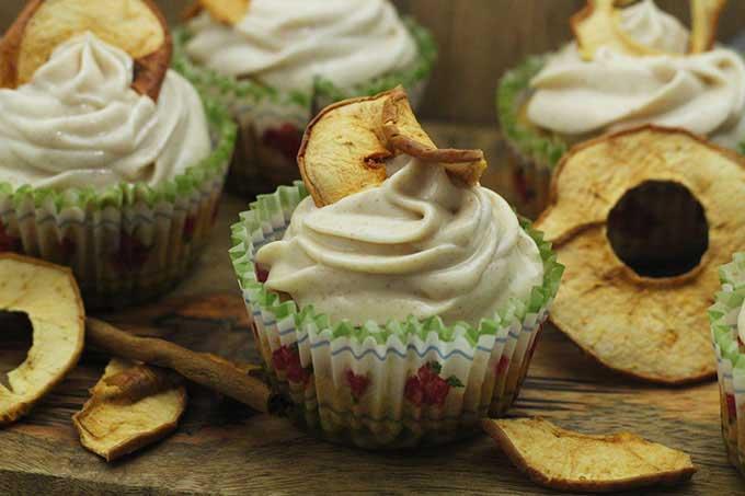 Apfel Zimt Cupcakes