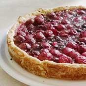 Finnischer Beerenkuchen