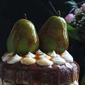 Naked Cake Lebkuchen Bratbirne