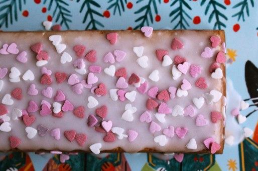 Valentinstagskuchen