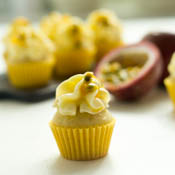 Mini Cupcakes Maracuja Passionsfrucht