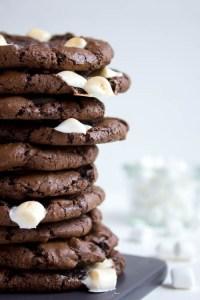 Rezept Schokokekse mit Marshmallows