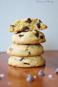 Chocolate Chip Cookie mit gebraeunter Butter